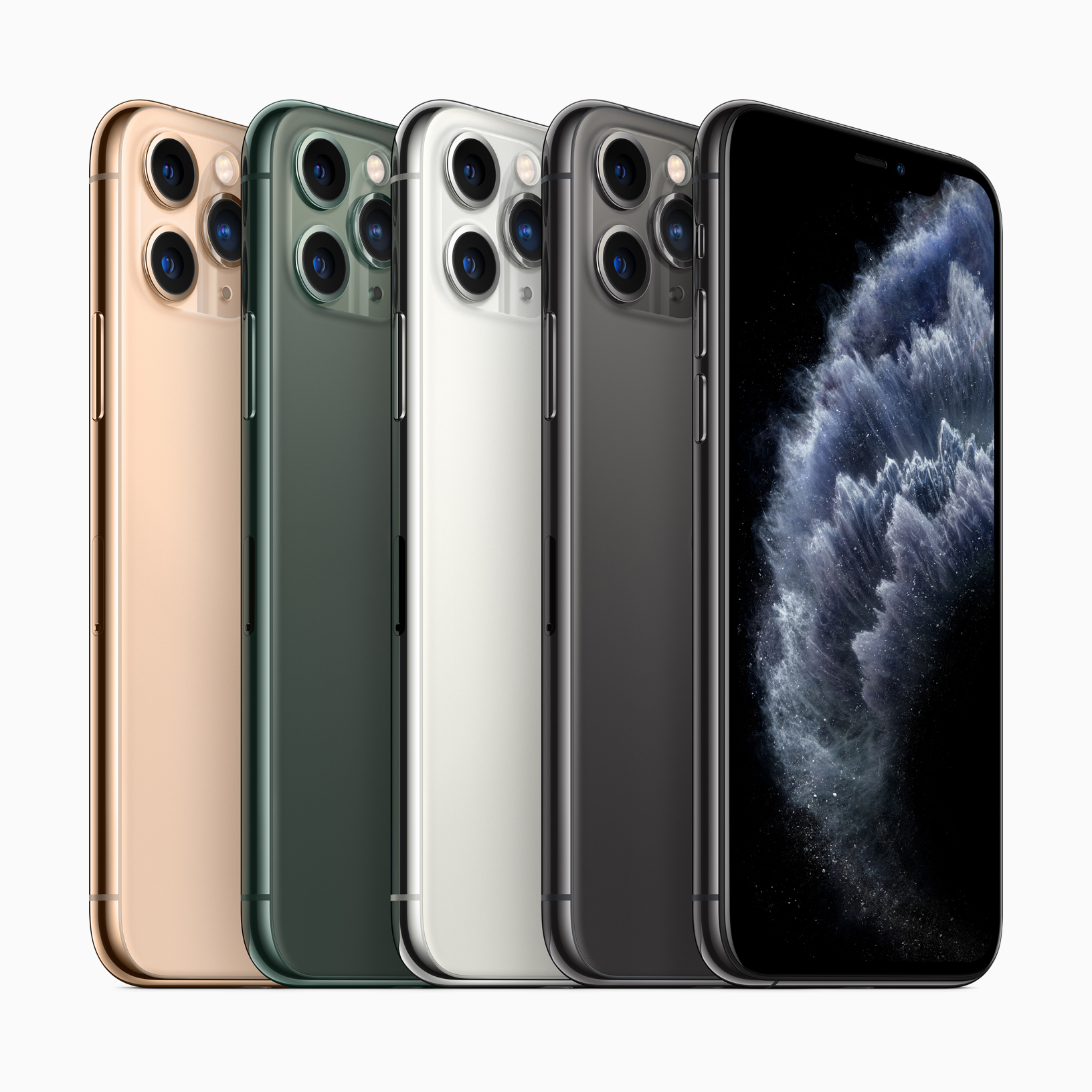 Apple's iPhone 11 Pro.  Apple