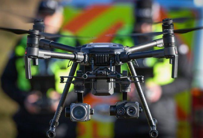 Police Scotland, drones