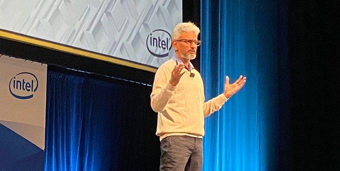 Intel's Raja Koduri at Supercomputing 2019. Intel