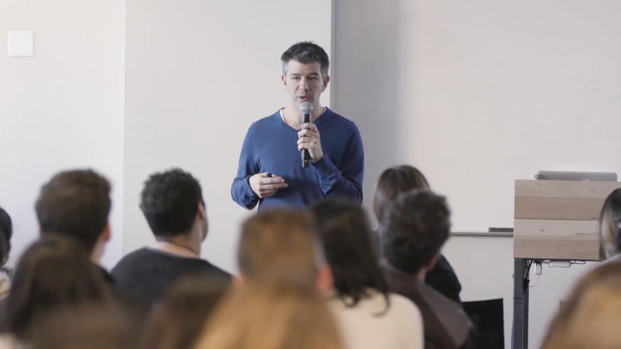 Uber co-founder Travis Kalanick. Uber