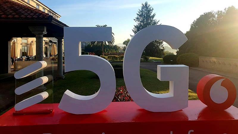 5G, Vodafone, Ericsson
