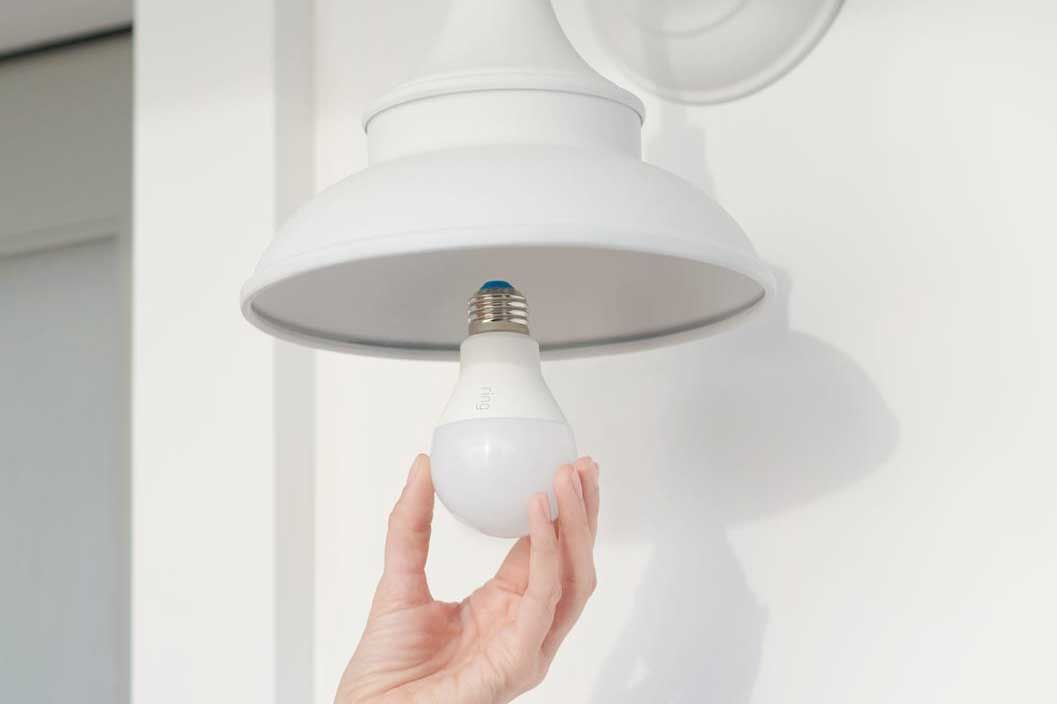 Ring smart lightbulb. Ring