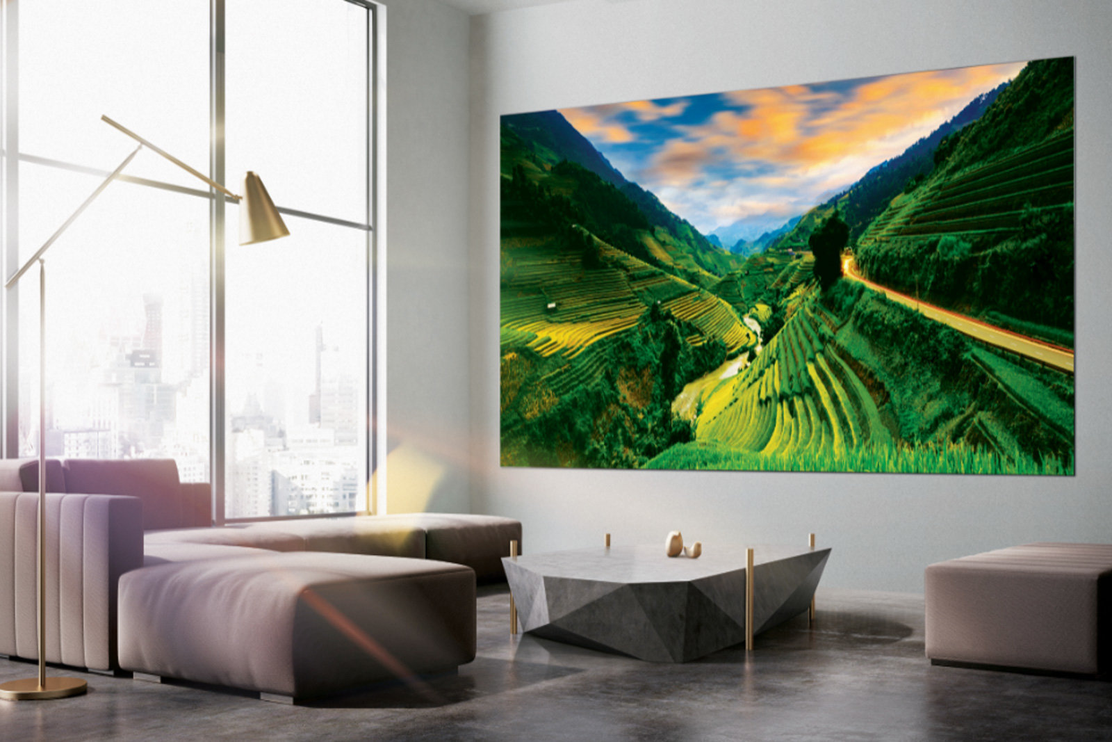 Samsung's The Wall television. Samsung