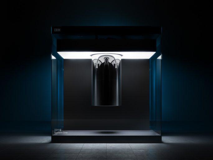 IBM's Q System One quantum computer. Image credit: IBM