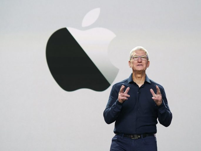 Apple chief executive Tim Cook at WWDC 2020. Image credit: Apple