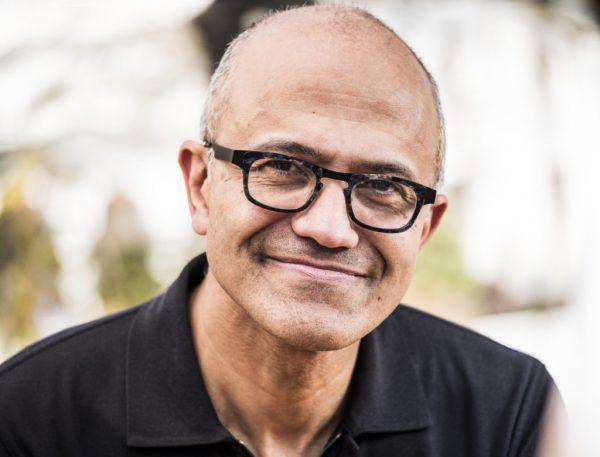 Satya Nadella, CEO, Microsoft.