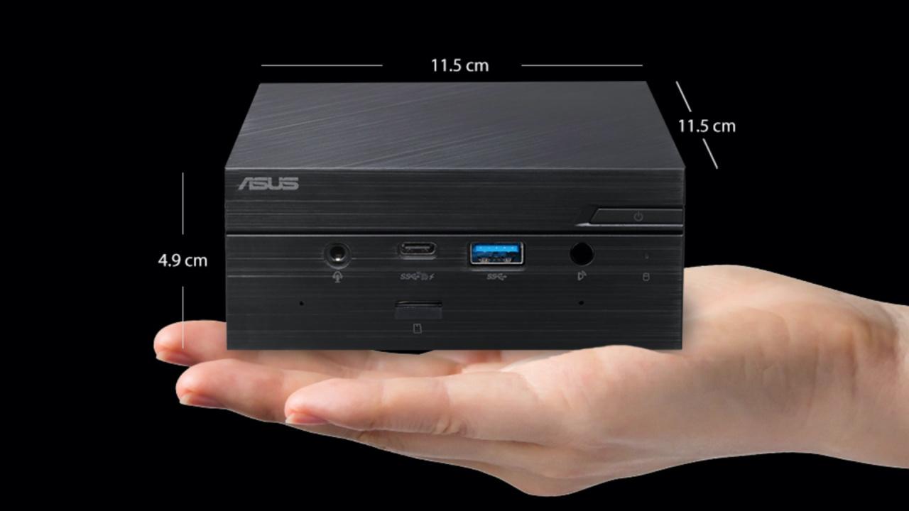 The Asus Mini PC PN50.  Image credit: Asus