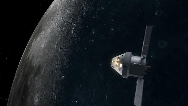 NASA's Orion crewed spacecraft. Image credit: NASA