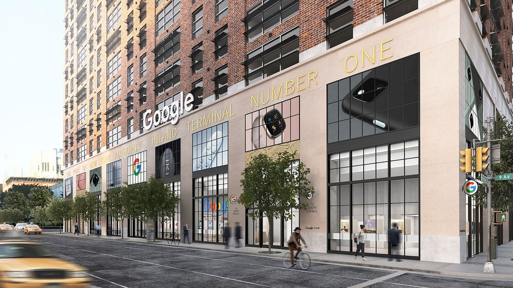 Google Opens Doors Of First Ever Retail Store