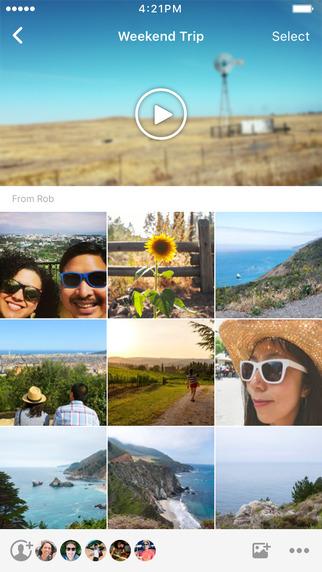 Facebook Moment iOS 2