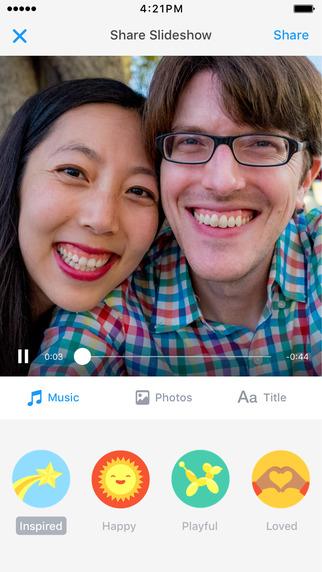 Facebook Moment iOS 5
