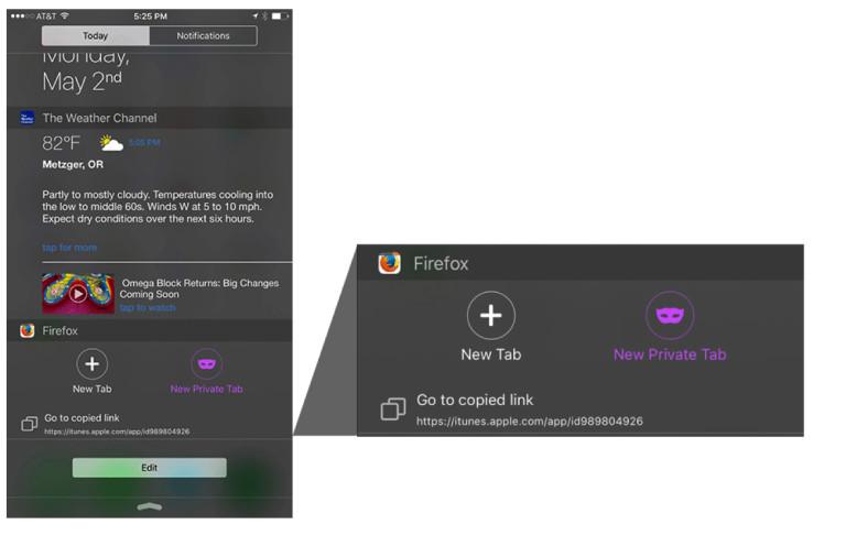 Firefox iOS 4.0 1