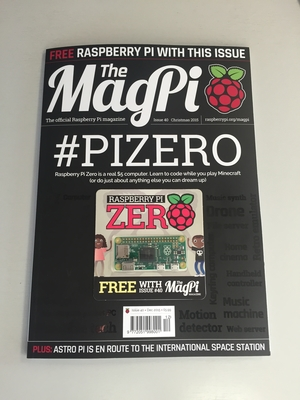 Raspberry Pi Zero Magazine