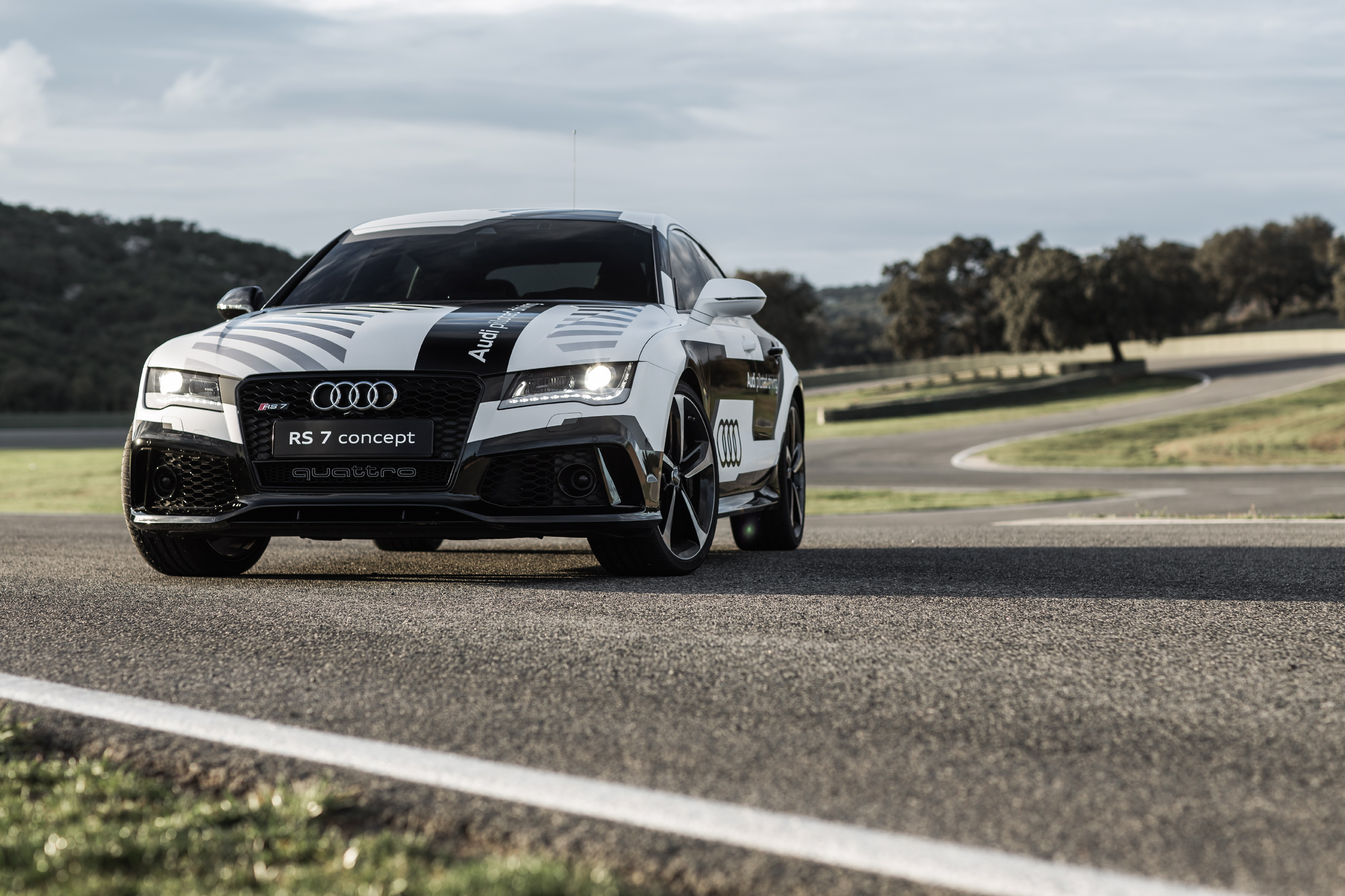 Say Hello To Bobby Audis SelfAware Car Of The Future - Audi piloted driving
