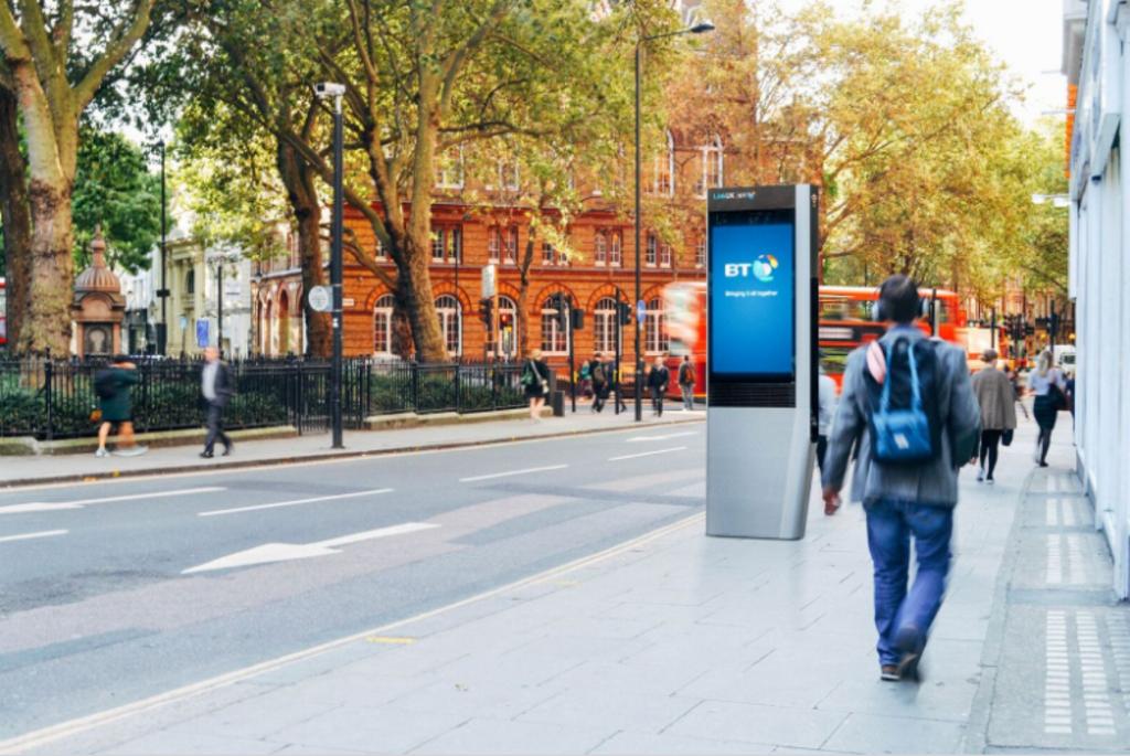 BT Link phone kiosk 1