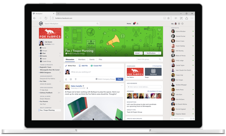 Facebook Workplace 5