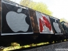 Greenpeace stops Apple\'s coal trian