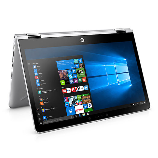 HP Pavilion x360 2017 clamshell