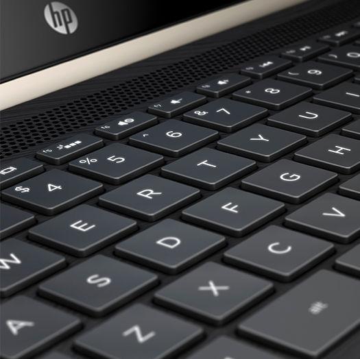 HP Pavilion x360 2017 keyboard