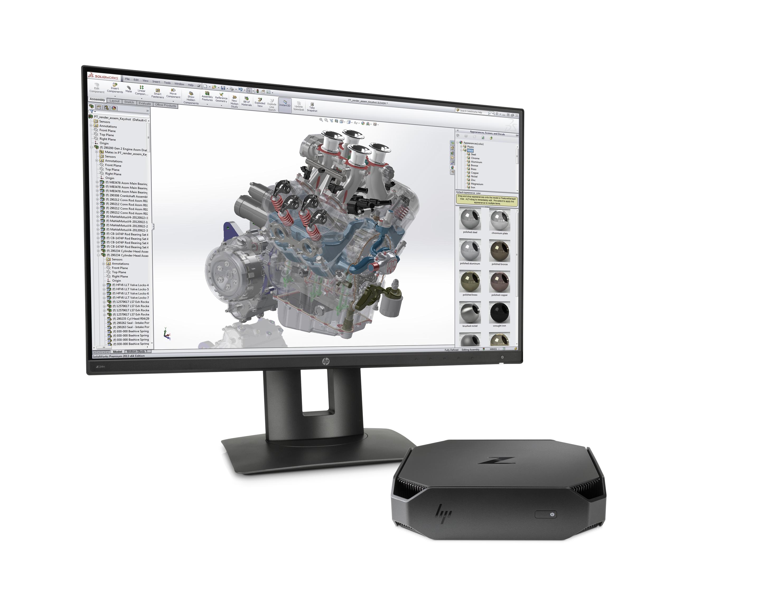 5. HP Z2 Mini Workstation w_ display