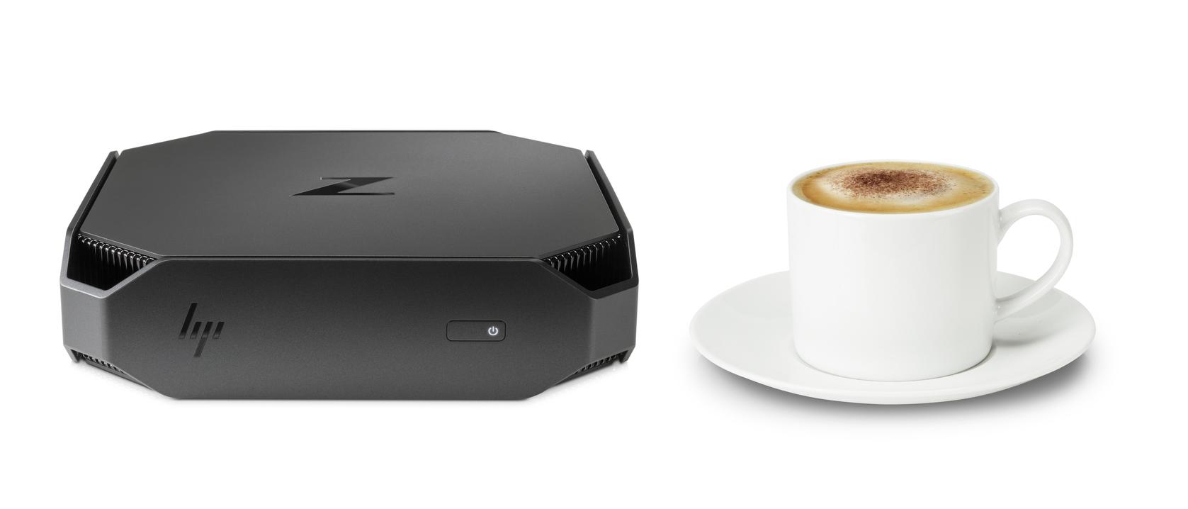 HP Z2 Mini Workstation w_ coffee cup