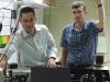 IBM scientists Matthias Walser and Gian Salis
