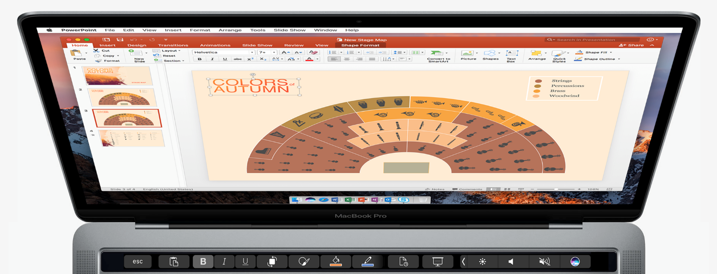 Microsoft Office For Mac Touch Bar 2