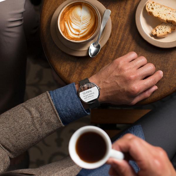 Motorola announces Moto 360 smartwatch