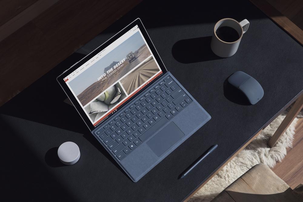Microsoft Surface Pro coffee