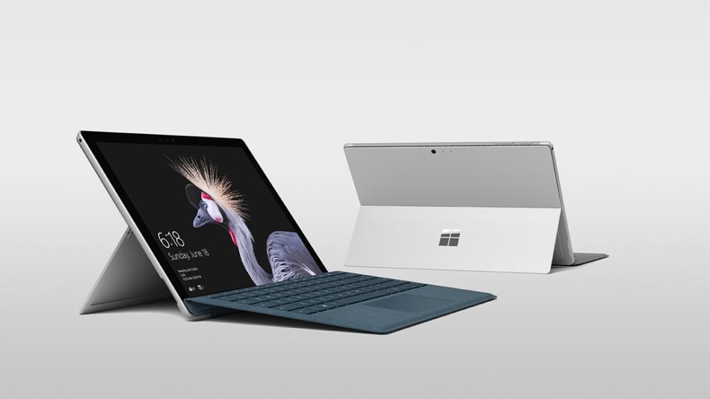 New Microsoft Surface Pro laptops