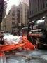 Peer 1 New York data centre diesel truck