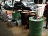Peer 1 New York data centre diesel buckets and barrels