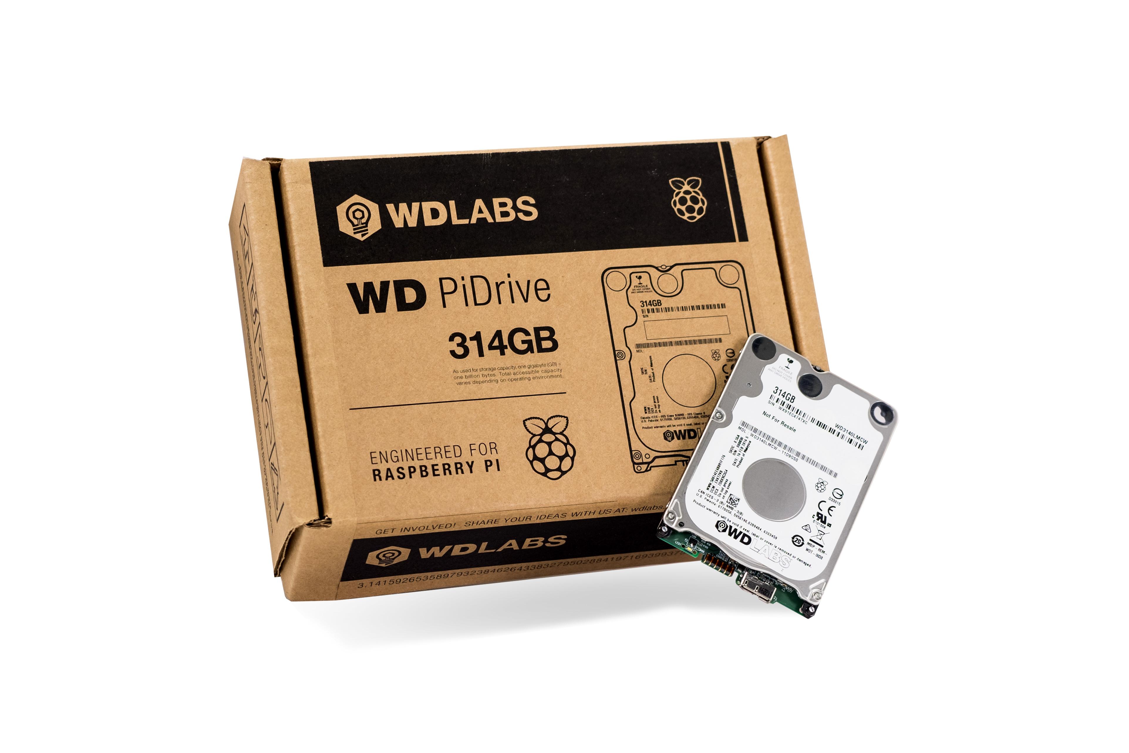 PiDrive 314GB