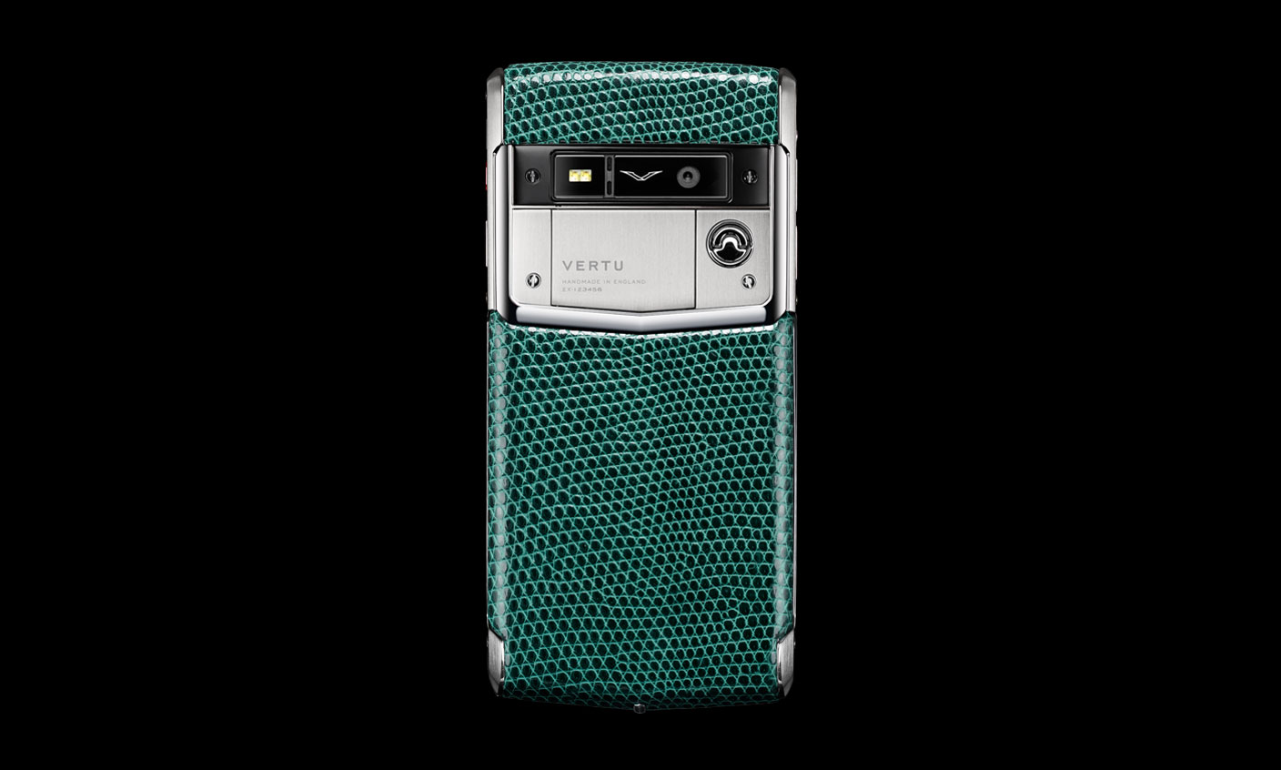 Vertu Signature Touch 2015 Lizard Collection - Night Forest
