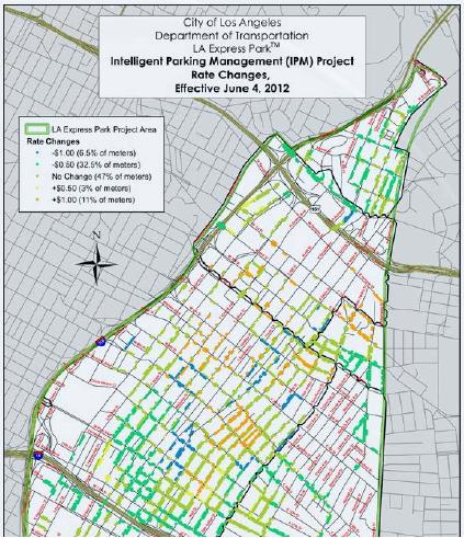 Xerox XRCE - a parking map of LA